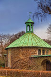 Small rural church. The chapel Maria in the Maien in the city Essen district Kettwig, Germany Royalty Free Stock Photography