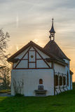 Small rural church near the Lake of Constance in Switzerland Stock Photography