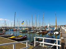 Small Rural Harbor Stock Images