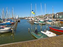 Small Rural Harbor Stock Photography