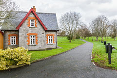 Small rural irish house Royalty Free Stock Photo