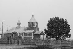 Rural orthodox church Stock Photography