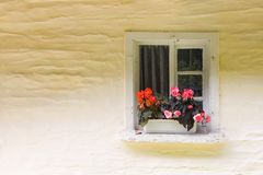 Small rural window Stock Image