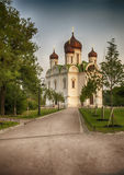Small russian church Royalty Free Stock Image