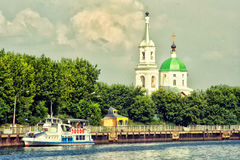 A small Russian church. Twer, Russia Stock Photography