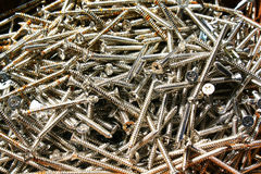 Small rust screw Royalty Free Stock Image