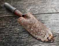 Small rusty shovel Stock Image