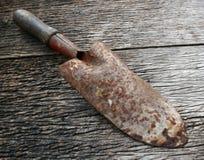 Small rusty shovel Stock Image