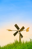 Small Rusty Windmill Royalty Free Stock Image