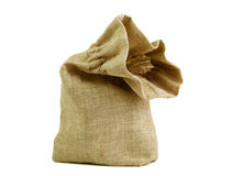 Small sack Royalty Free Stock Photos