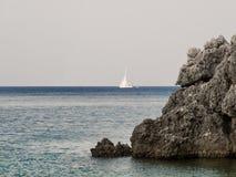 Small sail boat Stock Photos