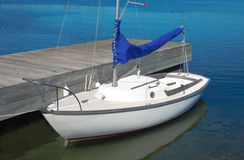 Small Sailboat Royalty Free Stock Photo