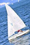 Small sailboats Royalty Free Stock Photography