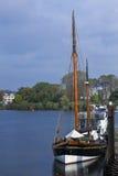 Small sailing boat Royalty Free Stock Photography