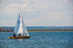 Small sailing boat Royalty Free Stock Photos