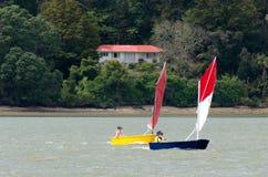 Small sailng boats Stock Photos
