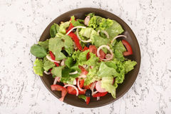 A small salad Royalty Free Stock Images