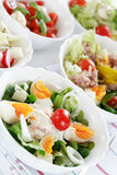 Small salads Royalty Free Stock Image