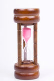 Small sand timer Stock Images