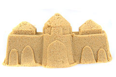 Small sand tower Stock Photography