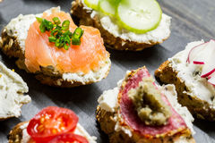 Small Sandwiches Stock Images