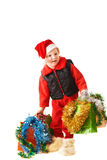 Small Santa Royalty Free Stock Photo