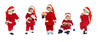 Small Santa Klaus Royalty Free Stock Photography