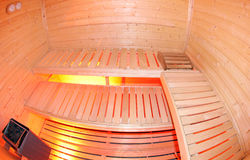 Small sauna Stock Photo