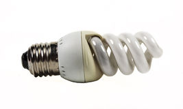 Small saving lamp Stock Photo