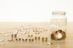 Small Savings Stock Image
