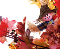 Small Scarecrow Stock Photo