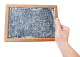 Small School board with chalk sketch for the messages. Royalty Free Stock Photography