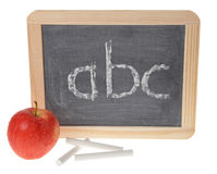 A small school chalkboard Stock Images
