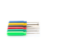 Small Screwdriver Set II Royalty Free Stock Image