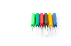 Small Screwdriver Set IV Royalty Free Stock Images