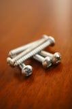 Small screws Royalty Free Stock Image