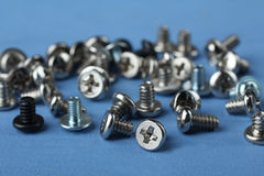 Small screws Royalty Free Stock Photography