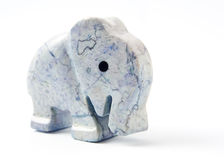 Small sculpture of elephant Stock Photography