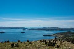 Small sea. Baikal Royalty Free Stock Images