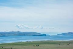 Small sea. Baikal Royalty Free Stock Photo