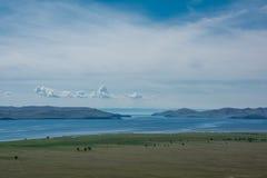 Small sea. Baikal Stock Photography