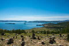 Small sea. Baikal Stock Image