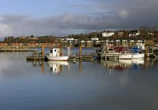 Small sea fishing boats Stock Photography
