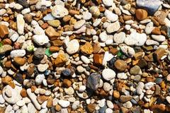 Small sea pebbles on a sunny beach. SONY DSC small sea pebbles on a sunny beach Royalty Free Stock Images