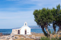 A small seafront chapel at the beach Royalty Free Stock Image