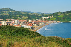The small seaside town in the Basque Country Stock Images