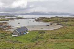 A small secluded bay in Ireland Stock Images