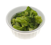 Small serving broccoli Royalty Free Stock Images