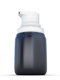 Small Shaving foam Aerosol Spray 3D Bottle Can. Ready For Your Design Royalty Free Stock Image