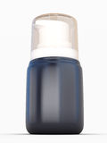 Small Shaving foam Aerosol Spray 3D Bottle Can. Ready For Your Design Royalty Free Stock Photography